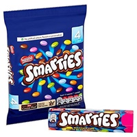 Image for Smarties Hexatube 38g, 4 Pack