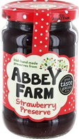 Image for Abbey Farm Irish Strawberry Jam 340 g