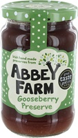 Image for Abbey Farm Irish Gooseberry Preserve 340 g