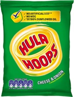 Image for KP Hula Hoops Cheese and Onion Potato Rings 34 g