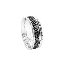 Image for Boru Unisex Trinity Faith Inscribed Band