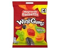 Image for Maynards Wine Gums Bag 165 g