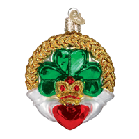 Image for Irish Claddagh Christmas Ornament