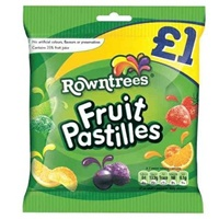 Image for Rowntree Fruit Pastilles Pouch 120 g