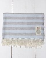 Image for Avoca Handweavers Baby Bunting Blanket, Baby Master Blue