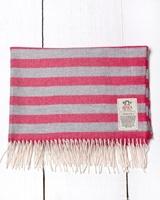 Image for Avoca Handweavers Baby Bunting Blanket, Baby Miss Raspberry