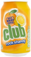 Image for Club Rock Shandy Soft Drink 330ml