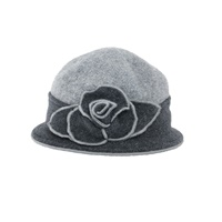 Image for Sheep By The Sea Wool Stylish Hat, Two Tone Grey