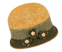 Image for Sheep By The Sea Stylish Hat, Yellow
