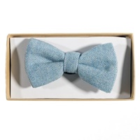 Image for Celtic Tweed Bow Tie, Sky Blue