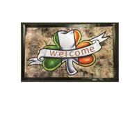 Image for Shamrock Welcome Door Mat
