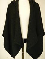 Image for Branigan Weavers Aoife Killybegs Hunter Hooded Asymmetrical Short Cape