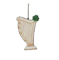 Image for Irish Musical Celtic Harp Ornament