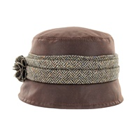 Image for Mucros Weavers Kate Wax Hat, Brown
