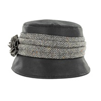 Image for Mucros Weavers Kate Wax Hat, Black