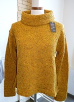 Image for Swing Z Sleeve Turtle Neck Sweater, Yellow
