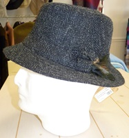 Image for Hanna Hats Harris Tweed Irish Walking Hat