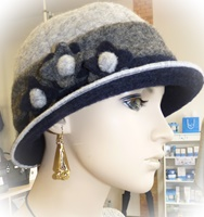 Image for Sheep By The Sea Stylish Hat, Grey