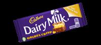 Image for Cadbury Dairy Milk Golden Crisp Bar 54g Irish