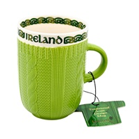 Image for Traditional Dark Green Aran Mug