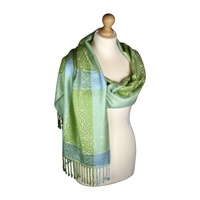 Image for Keeragh Celtic Woven Pashmina Scarf