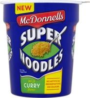 Image for McDonnells Super Noodles Curry Pot 65 g
