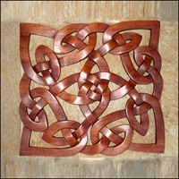 Image for Blue Frogs SK-09 Handcarved Wooden Celtic Knot