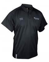 Image for Guinness Black Embossed Print Rugby Jersey