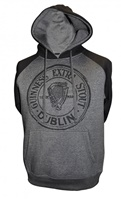Image for Guinness Pullover Hoodie, Charcoal Grey & Black
