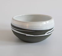 Image for Paul Maloney Pottery Greystone Soup Bowl