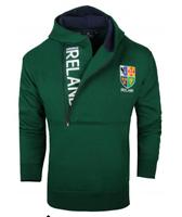 Image for Ireland Half Zip Super Soft Hoodie, Bottle Green