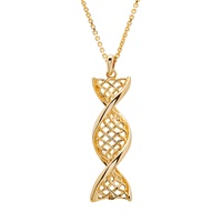"""Image for Celtic DNA 14K Yellow Gold Pendant with 18"""" Chain"""