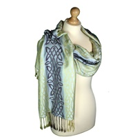Image for Caher Celtic Woven Pashmina Scarf