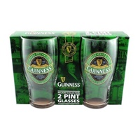 Image for Guinness Ireland Collection Pint Glass - 2 Pack