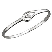 Image for Sterling Silver Trinity Bangle