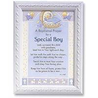 Image for Baptismal Prayer for a Special Boy Card