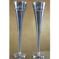 Image for Mullingar Pewter Claddagh Flutes