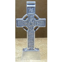 Image for Mullingar Pewter Claddagh Celtic Cross