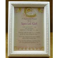 Image for Baptismal Prayer  for a Special Girl Card