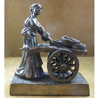 Image for Molly Malone Bronze Statue Small