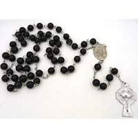 Image for Kilkenny Black Marble Irish Rosary