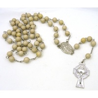 Image for Ulster White Marble Irish Rosary