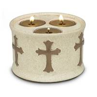 Image for Blessings Triple Tea Light Holder