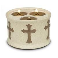 Image for Blessings Triple Tea Light Holder