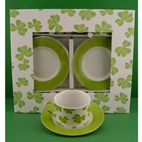 Image for Tea Cups and Saucers  - Set of 6