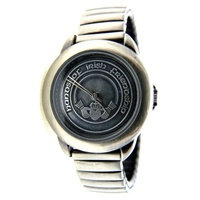 Image for Pewter Tone Claddagh Watch
