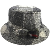 Image for Hanna Gray Plaid Walking Hat
