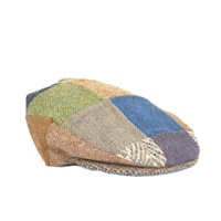 "Image for Hanna Hats ""One of a Kind"" Traditional Patchwork Cap"
