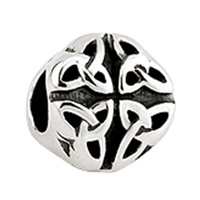 Image for Solvar Trinity Knot Round Charm Bead