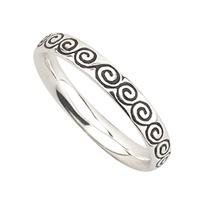 Image for Solvar Celtic Swirl Stack Ring